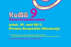 KoMA 2013, Beograd, 2013