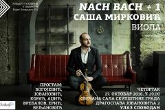 Saša Mirković, Nach Bach, 2016