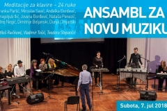 Ansambl za drugu novu muziku, Beograd, 2018