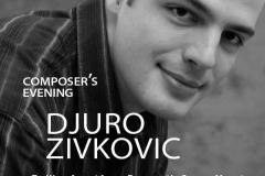 Autorsko veče Đure Živkovića, 2014