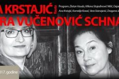 Stana Krstajić i Sandra Vučenović, Novi Sad, 2017