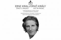 """Naučni skup """"Erne Kiralj - Život u muzici"""", Novi Sad, septembar 2019"""