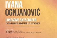Ivana Ognjanović, Tribina Novi zvučni prostori 15. maj 2019